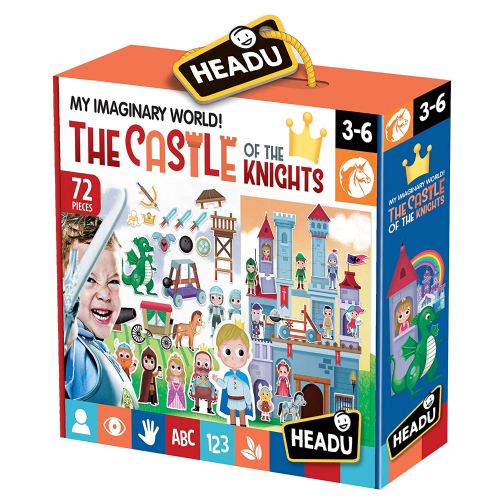HEADU The Castle of the Knights Children Educational Jigsaw Puzzle Gift Toy 3- 6